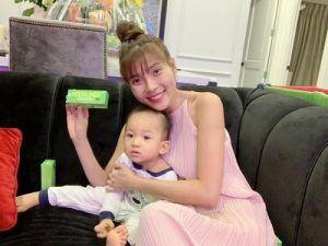 Nữ diễn viên Thúy Diễm phản hồi về kem Yoosun rau má