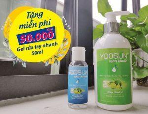 Gel rửa tay yoosun sach khuẩn
