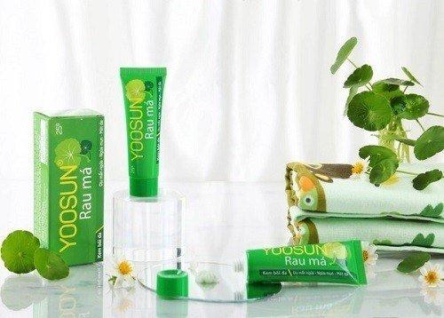 Công dụng của yoosun rau má