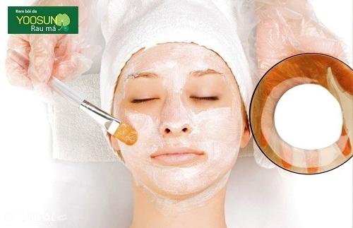 Cách chữa cháy năng cho da mặt