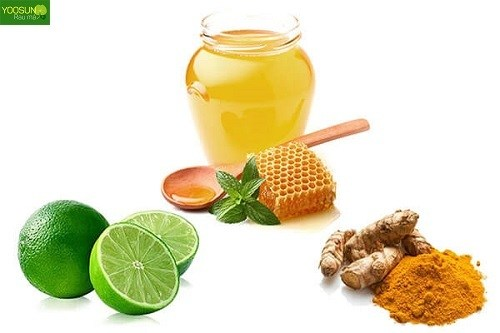 Cách trị mụn bằng mật ong và bột nghệ