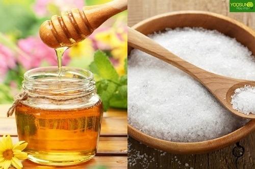 Cách trị mụn bằng mật ong và muối