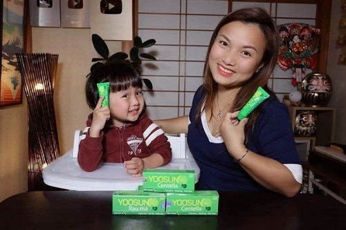Quỳnh Trần JP chia sẻ về kem yoosun rau má