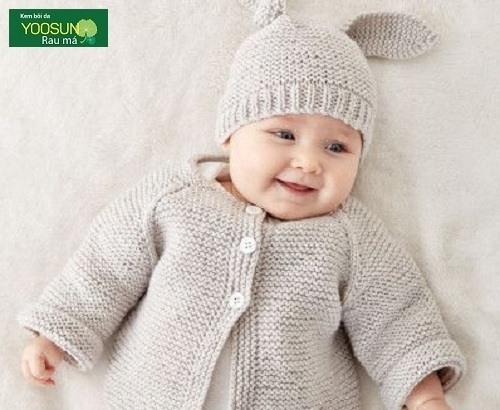 Cách chăm soc da cho trẻ sơ sinh mùa đông