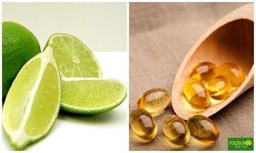 Cách dùng vitamun e trị thâm mụn