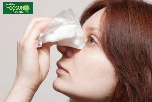 Cách trị mụn bọc trong mũi