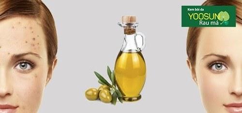Cách trị thâm mụn cho da nhạy cảm bằng dầu oliu