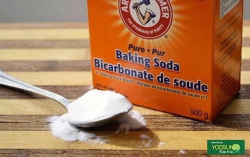 Cách trị thâm mụn lưng tại nhà bằng baking soda
