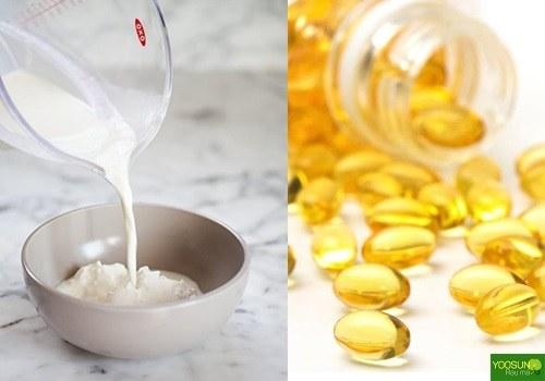 Cách trị thâm mụn vitamin e