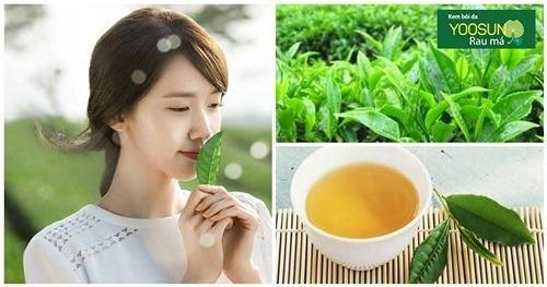 Đặc trị thâm mụn bằng trà xanh