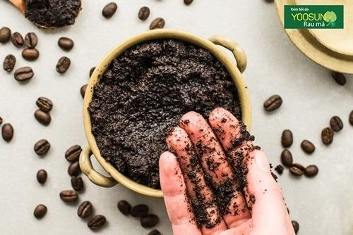Trị thâm mụn tự nhiên bằng bã cà phê
