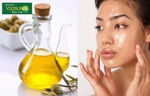 Cách đắp mặt nạ dầu oliu qua đêm