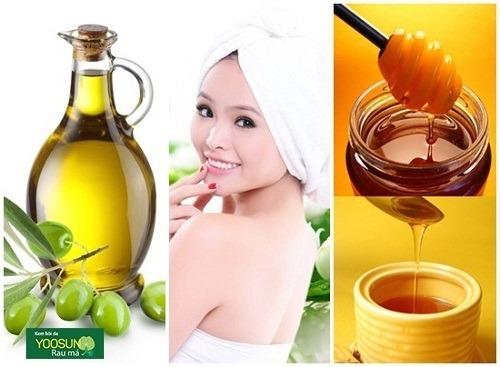 Cách làm mặt nạ từ mật ong và dầu oliu