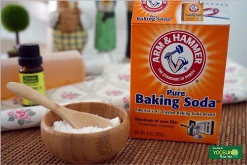 Có nên dùng baking soda trị mụn trứng cá