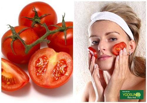 Đắp mặt nạ cà chua có tác dụng gì vậy