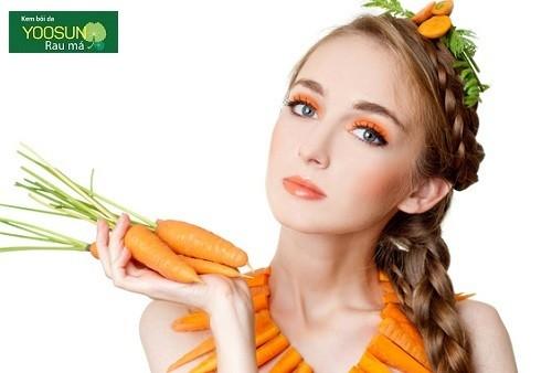 Đắp mặt nạ cà rốt có tác dụng gì