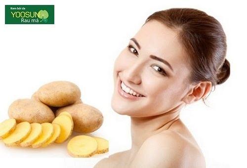 Đắp mặt nạ khoai tây có tác dụng gì