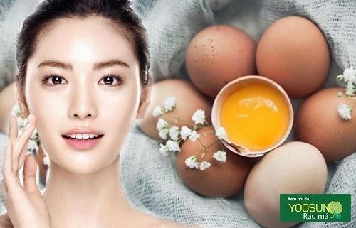 Đắp mặt nạ trứng gà có tác dụng gì