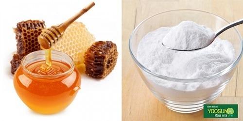 Hướng dẫn trị mụn bằng baking soda và mật ong