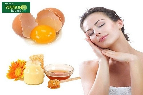 Mặt nạ trứng gà mật ong sữa tươi không đường