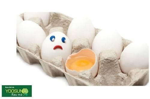Bé bị dị ứng với trứng