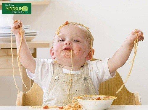 Cách điều trị dị ứng thức ăn ở trẻ em