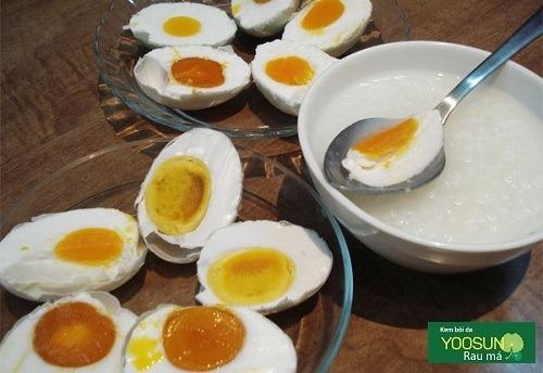 Dị ứng trứng cá muối