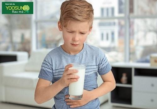 Trẻ dị ứng với lactose