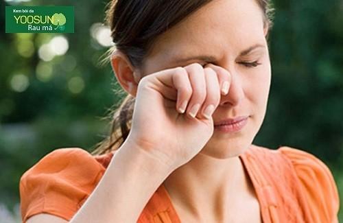 Triệu chứng dị ứng phấn hoa thực phẩm