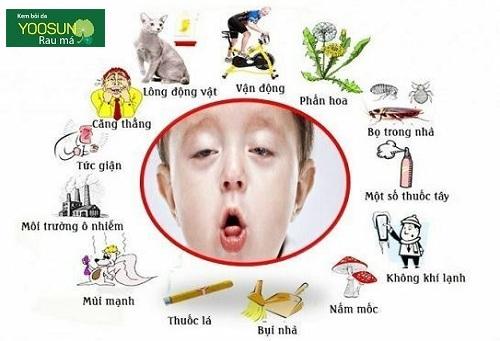 Trẻ bị dị ứng mẩn ngứa