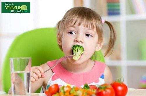 Trẻ bị dị ứng nên ăn gì
