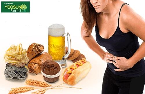 Triệu chứng dị ứng gluten