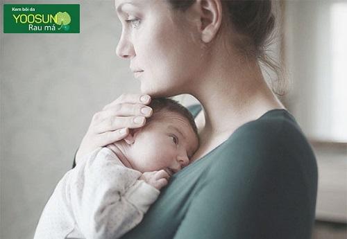 Cách dưỡng da sau sinh
