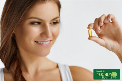 Da dầu có nên uống vitamin e