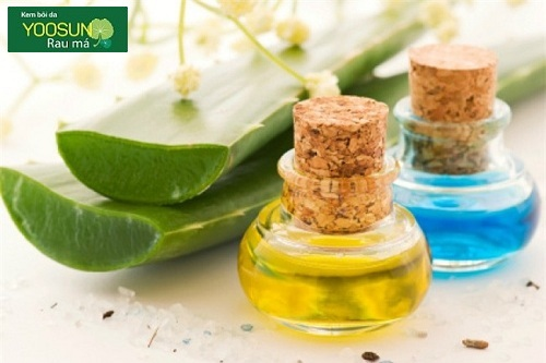 Dùng dầu dừa dưỡng da ban đêm