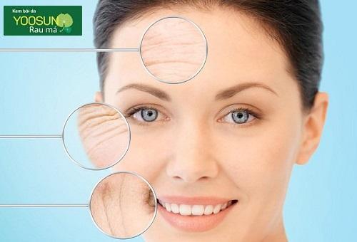 7 dấu hiệu lão hóa da mặt