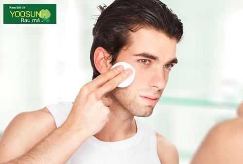 Các bước chăm sóc da cho nam giới