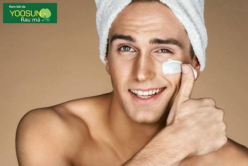 Cách chăm sóc da mặt ở nam giới