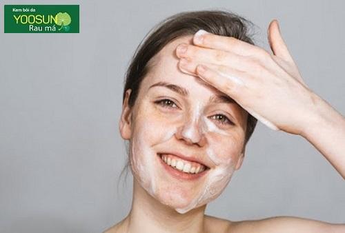 Cách làm da mặt mát
