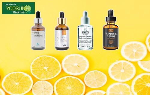 Vitamin C cho da nhạy cảm mụn