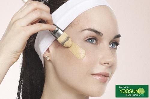 Quy trình trang điểm cho da mụn