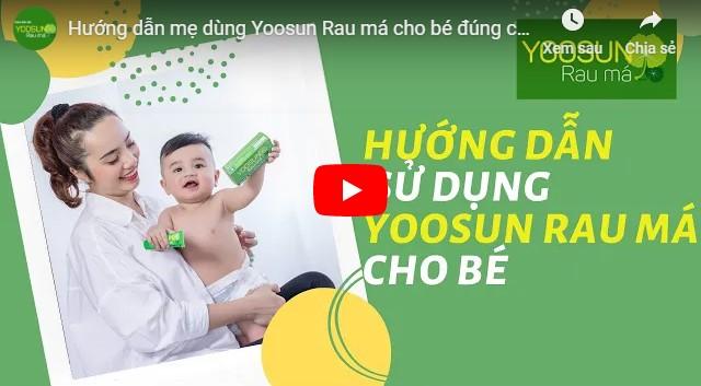 Video cách xử lý mụn nước ở tay trẻ