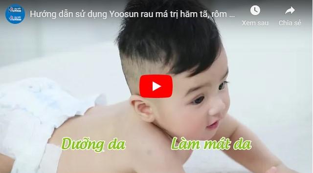 Video kem bôi trị rôm sảy cho trẻ sơ sinh