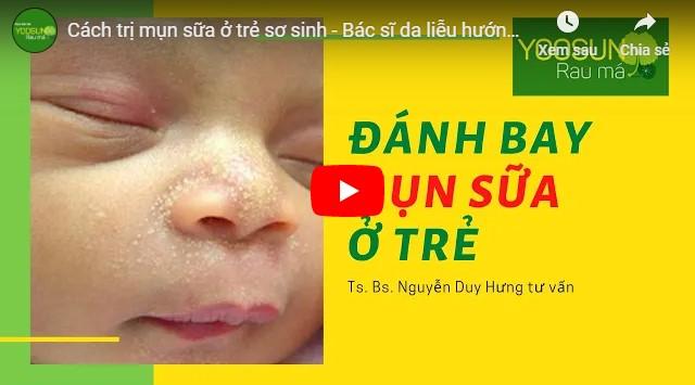 Video cách chữa mụn nhọt ở trẻ em