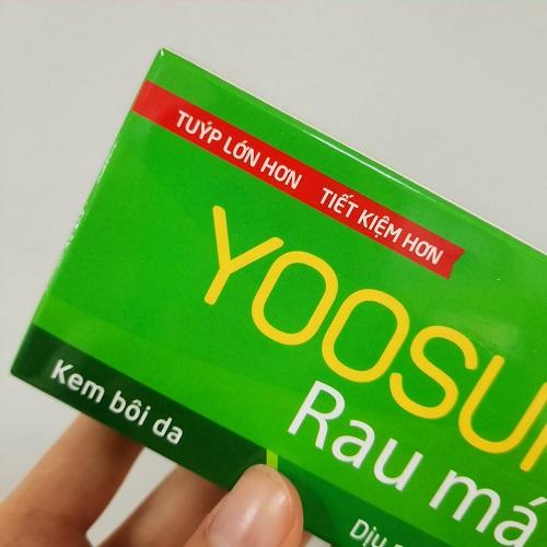 Kem bôi da yoosun rau má loại 50g