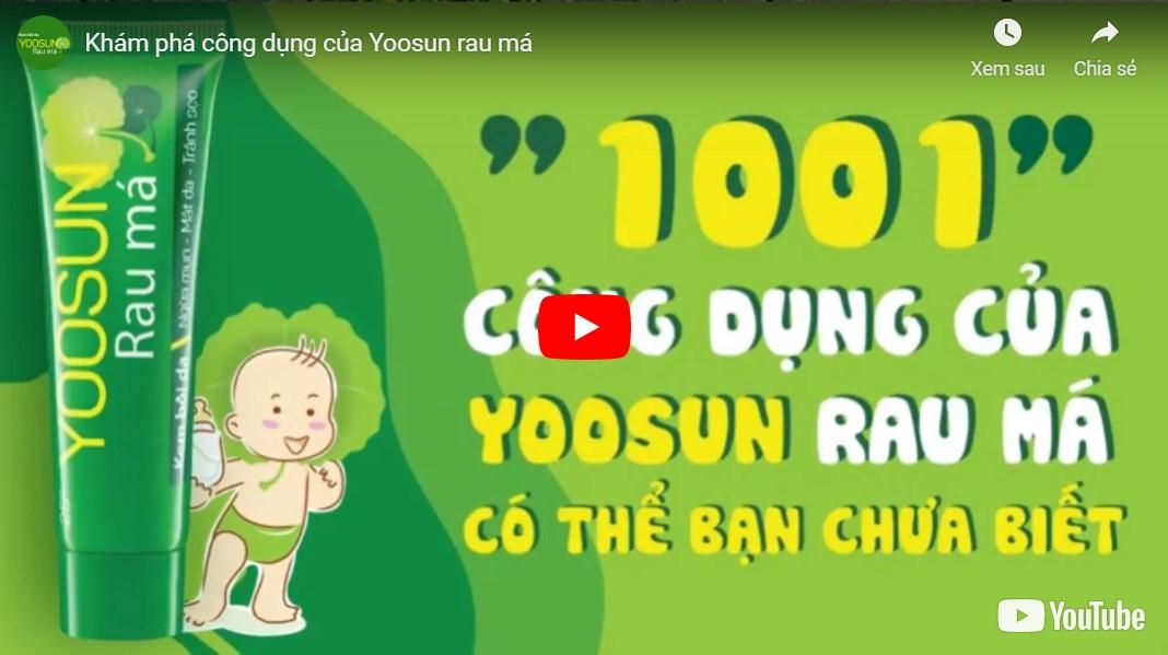 Video Yoosun rau má