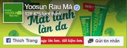Fanpage Yoosun Rau má