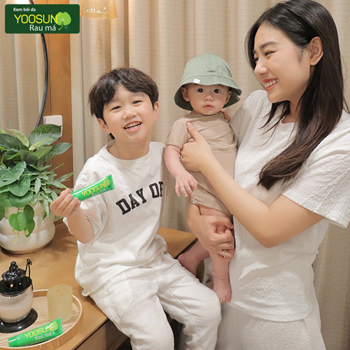 Hành trình gắn kết yêu thương nhãn hàng Yoosun rau má
